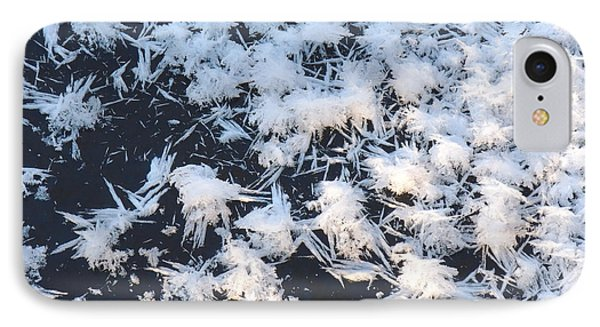 Ice Crystals On The River IPhone Case