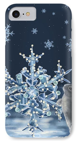 Ice Crystals IPhone Case by Veronica Minozzi