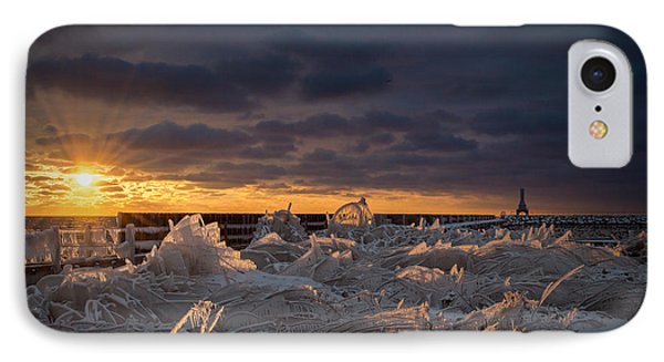Ice Fields IPhone Case by James  Meyer