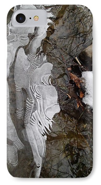 Ice Flow IPhone Case by Robert Nickologianis