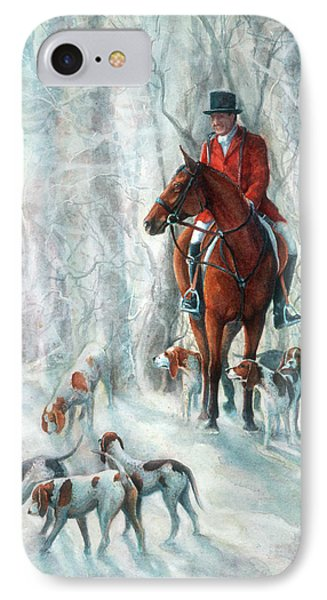 Ice Hounds Phone Case by Robyn Ryan