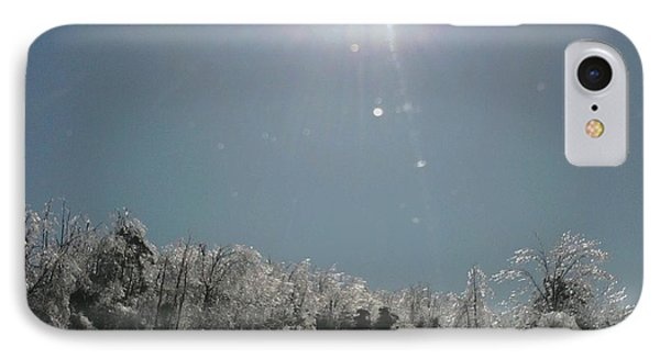 IPhone Case featuring the photograph Ice Kissed by Ellen Levinson