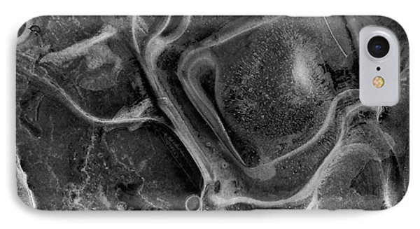 Ice On Granite IPhone Case