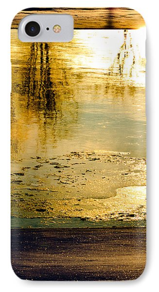 Ice On The River Phone Case by Bob Orsillo