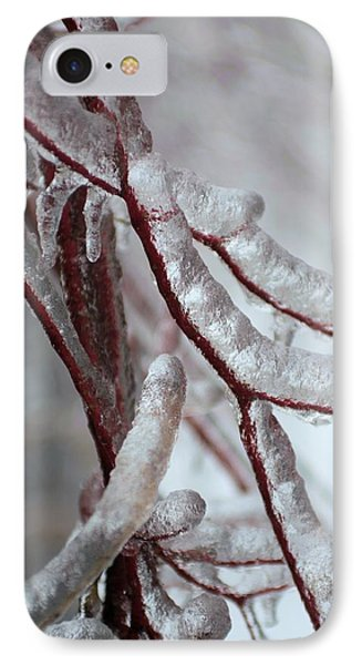 IPhone Case featuring the photograph Ice On Tree  by Douglas Pike
