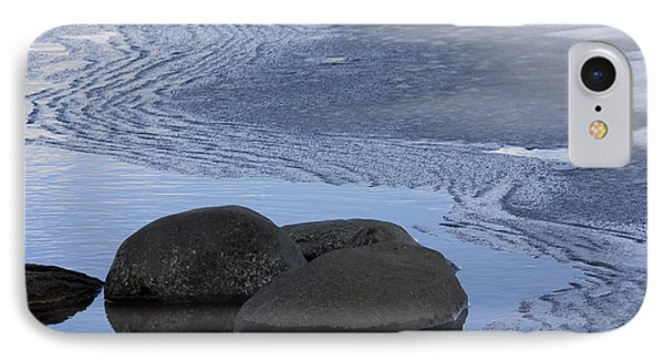 Ice Out At Pumice Point IPhone Case