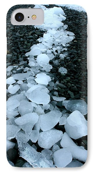 IPhone Case featuring the photograph Ice Pebbles by Amanda Stadther