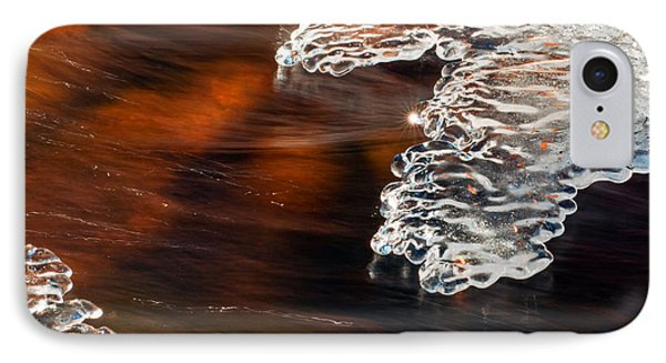 Ice Sculpting  IPhone Case by Eric Rundle