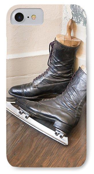 Ice Skates IPhone Case by Tom Gowanlock