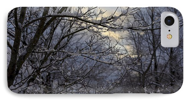 Winter's Embrace IPhone Case