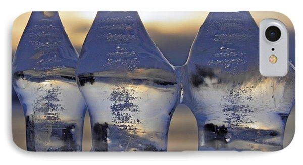 Ice Trio Phone Case by Sami Tiainen