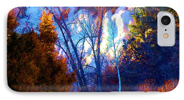 IPhone Case featuring the photograph Ice Wall In Morning Light El Valle Nm by Anastasia Savage Ealy