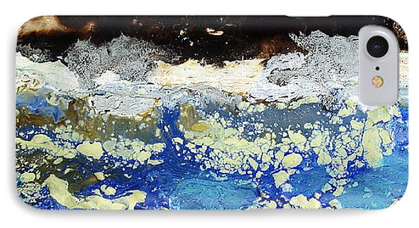IPhone Case featuring the painting Ice Water Frozen Trees by Carolyn Goodridge