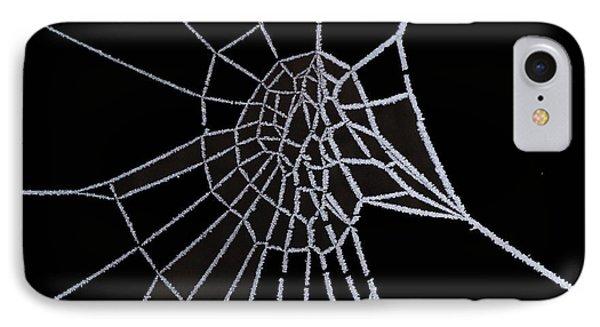 Ice Web Phone Case by Carol Lynch