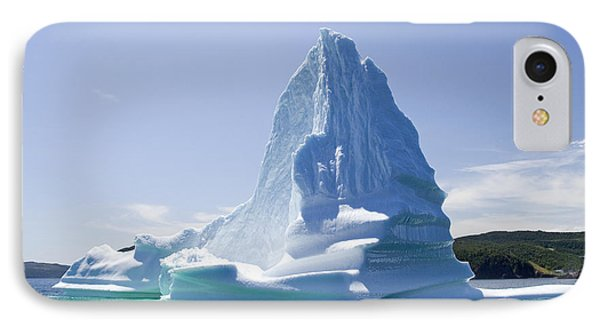 IPhone Case featuring the photograph Iceberg Canada by Liz Leyden