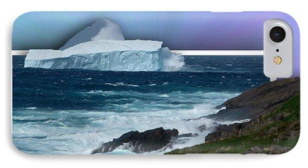 Iceberg Escape Phone Case by Barbara Griffin
