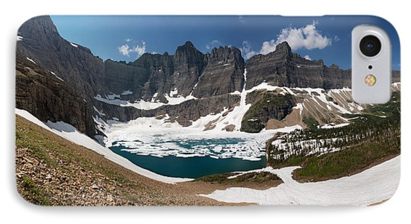 Iceberg Lake IPhone Case by Aaron Aldrich
