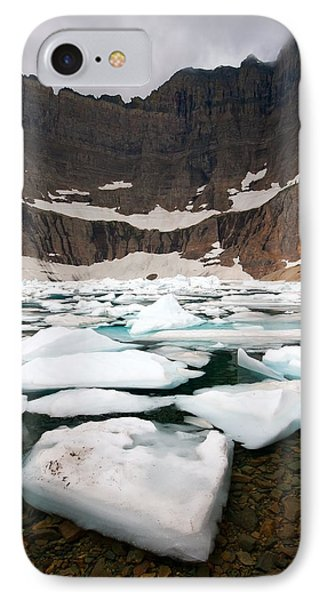 IPhone Case featuring the photograph Iceberg Lake by Aaron Whittemore