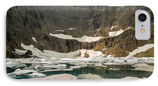 Iceberg Lake Phone Case by Natural Focal Point Photography