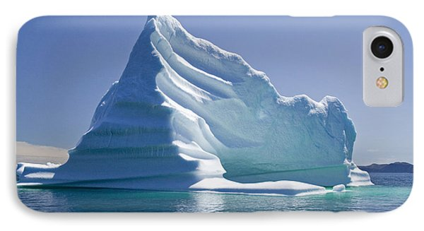 IPhone Case featuring the photograph Iceberg by Liz Leyden