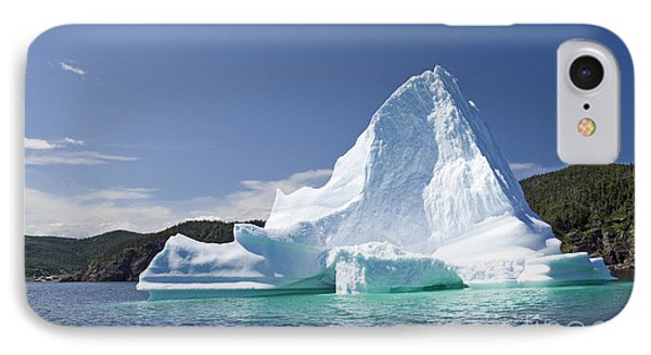 IPhone Case featuring the photograph Iceberg Newfoundland Canada by Liz Leyden