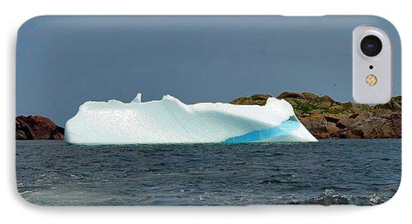 Iceberg Off Little Fogo Islands Newfoundland IPhone Case