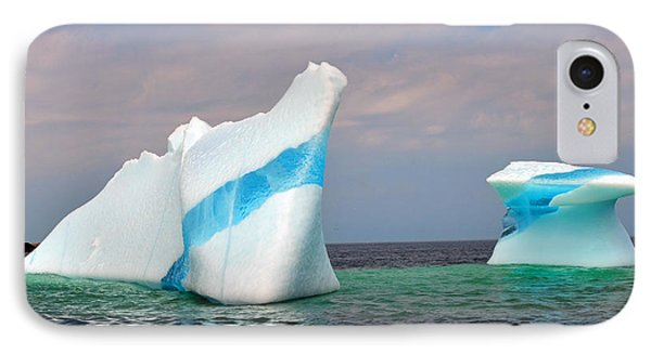 Iceberg Off The Coast Of Newfoundland IPhone Case by Lisa Phillips