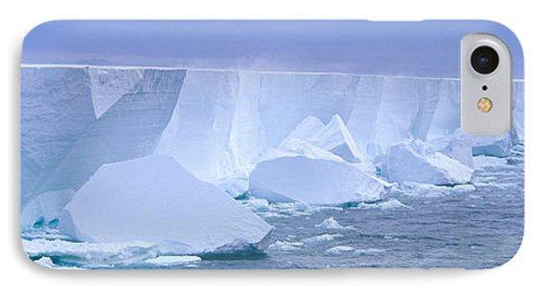 Iceberg, Ross Shelf, Antarctica IPhone Case by Panoramic Images