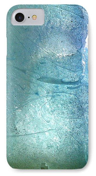 Iceberg Sculpture Detail Phone Case by Rick Silas