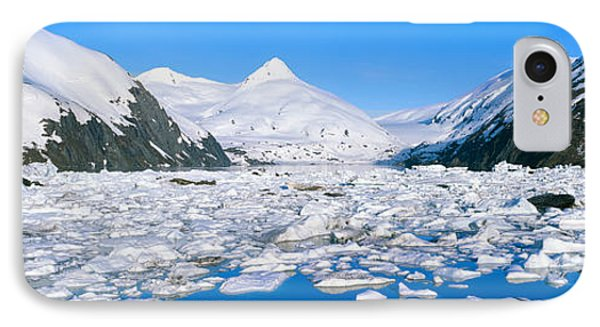 Icebergs In Portage Lake And Portage IPhone Case