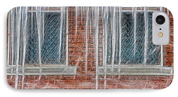 Iced Over Phone Case by Steve Ohlsen