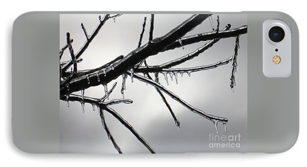 IPhone Case featuring the photograph Iced Tree by Ann Horn