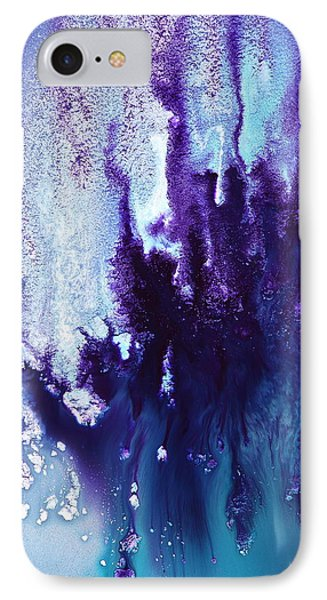 Icefall Abstract Art Photography By Serg Wiaderny Phone Case by Serg Wiaderny