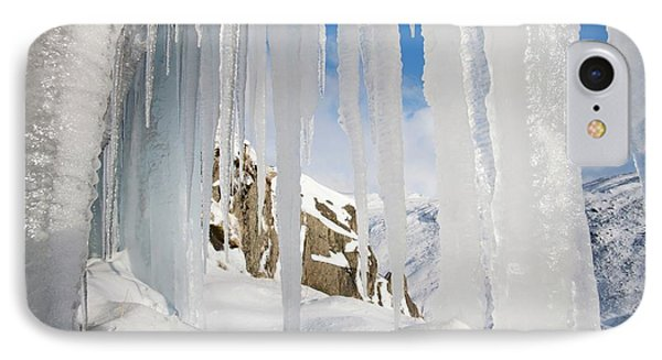Icefall IPhone Case by Ashley Cooper