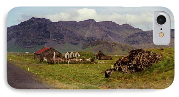 IPhone Case featuring the photograph Icelandic  Cottage by Debra Kaye McKrill