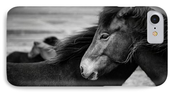 Icelandic Horses IPhone Case by Dave Bowman