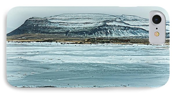 Icelandic Winter Landscape IPhone Case