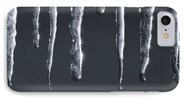 Icicles IPhone Case by Adam Romanowicz
