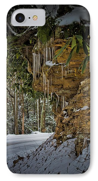 Icicles In Wv IPhone Case