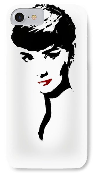 Icon Of Beauty IPhone 7 Case by Steve K