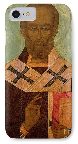 Icon Of St. Nicholas IPhone Case by Russian School