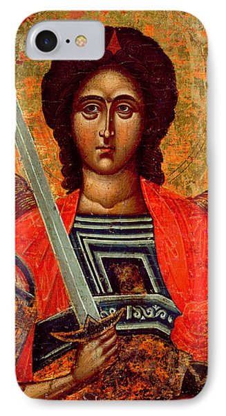 Icon Of The Angel Michael IPhone Case by Greek School