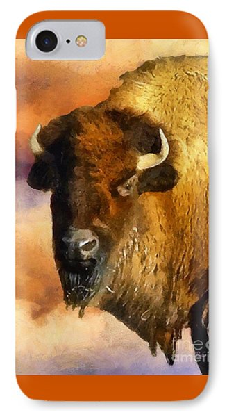 Icon Of The Plains IPhone Case by RC deWinter