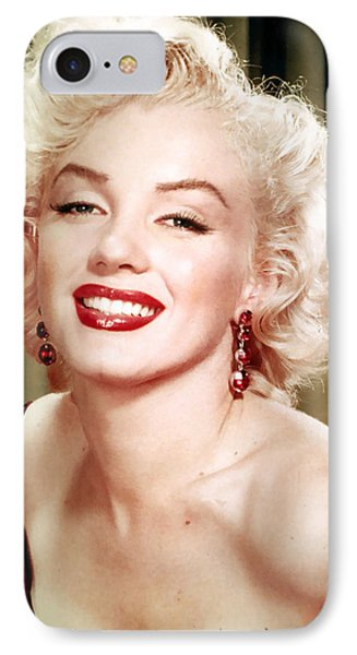 Iconic Marilyn Monroe IPhone Case by Georgia Fowler
