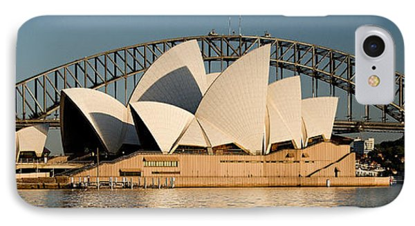 Icons One And Two - Sydney Australia. Phone Case by Geoff Childs