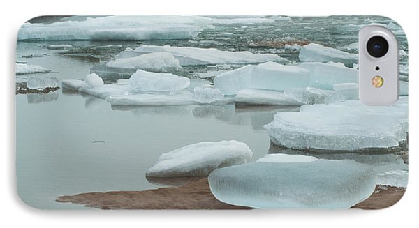 Icy Beach IPhone Case by Jill Laudenslager