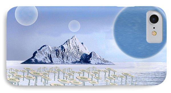 Icy Desert Phone Case by Piero Lucia