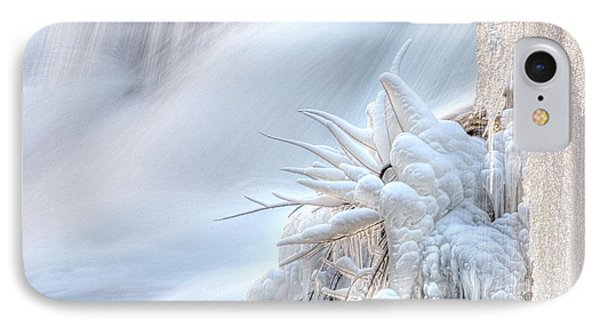 IPhone Case featuring the photograph Icy Fingers by Wanda Krack