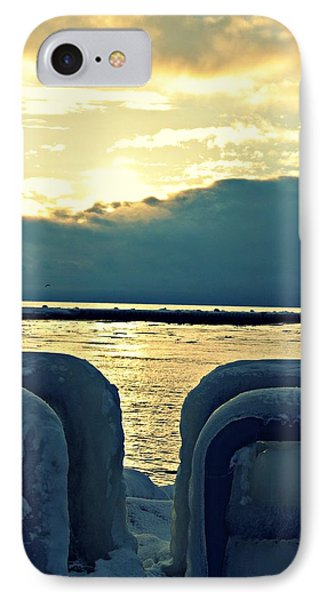 Icy Path Phone Case by Dawdy Imagery
