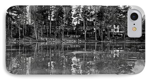 Icy Pond Reflects Phone Case by Frozen in Time Fine Art Photography